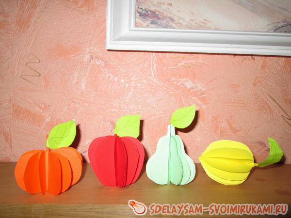 Объемный фрукт