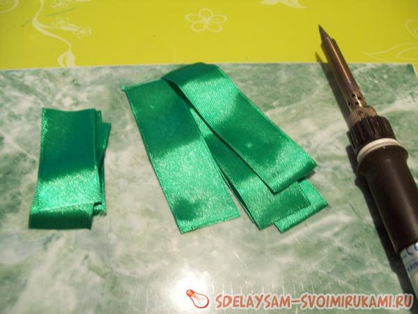 hair ties from Foamiran