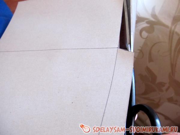 Прямоугольник плотной бумаги