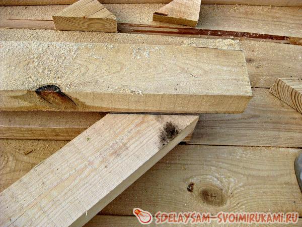 make a rafter base