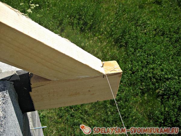 Install rafters