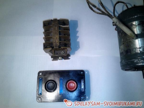 Подключение пускателя через кнопку - Всё о электрике в доме