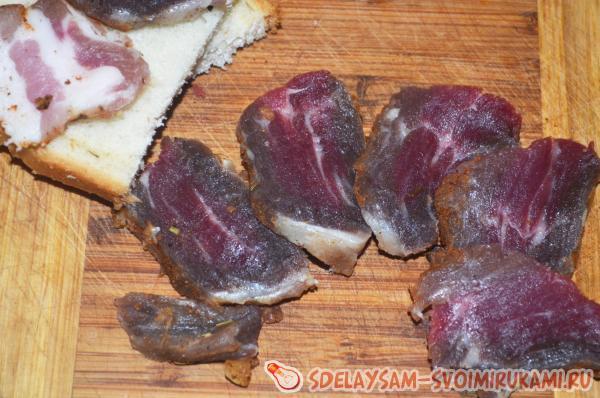 Мясо сыровяленое в домашних условиях