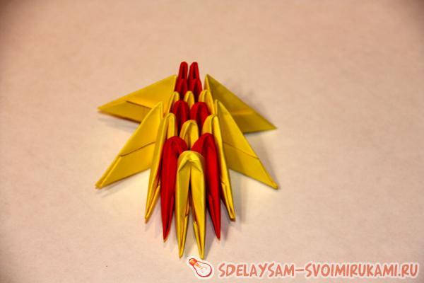 dragonfly modular origami