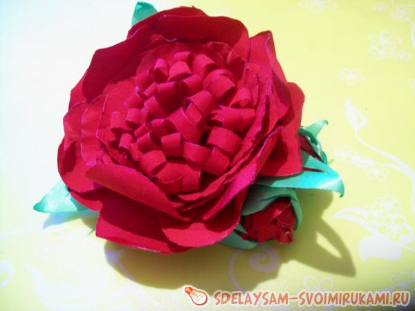clips for hair with peony