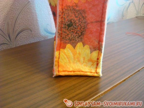 Как сшить сумку из фетра