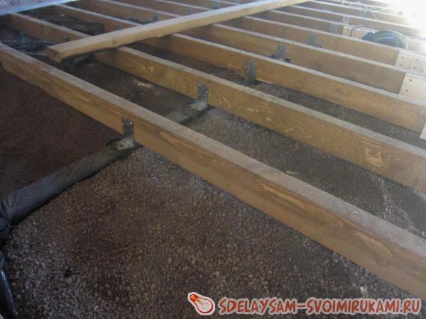 Подготовка основы для деревянного пола