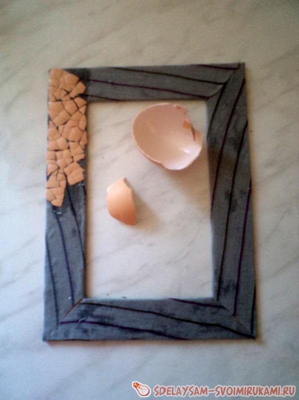 рамочки из скорлупы яиц