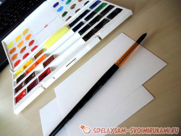 краски и бумага