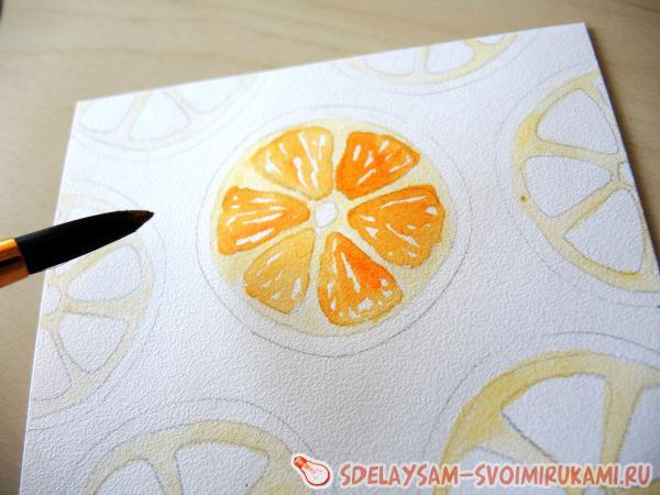 draw orange