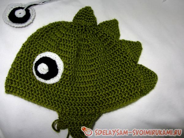 Knit a Dinosaur Hat