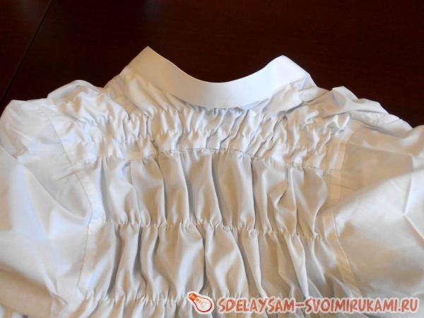 блуза из мужской рубашки