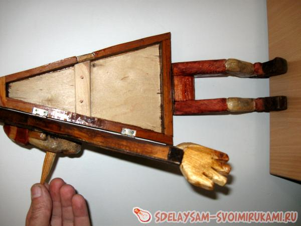 Шкатулка для ключей Буратино