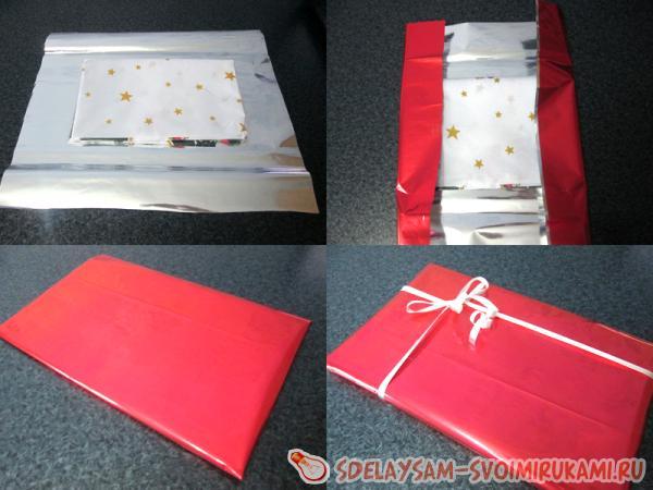 Как красиво упаковать подарок к празднику? Способы упаковки 44