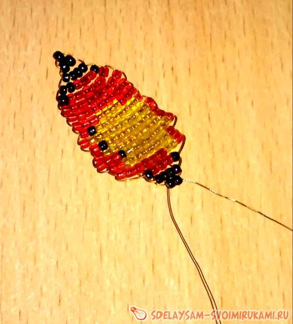 Панно Бабочки из бисера