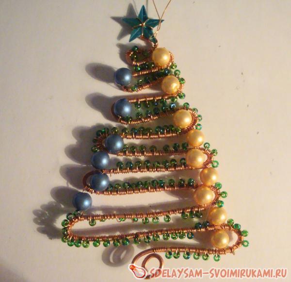 новогоднее украшение елочка