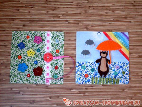 Шьем развивающую текстильную книжку для малыша своими