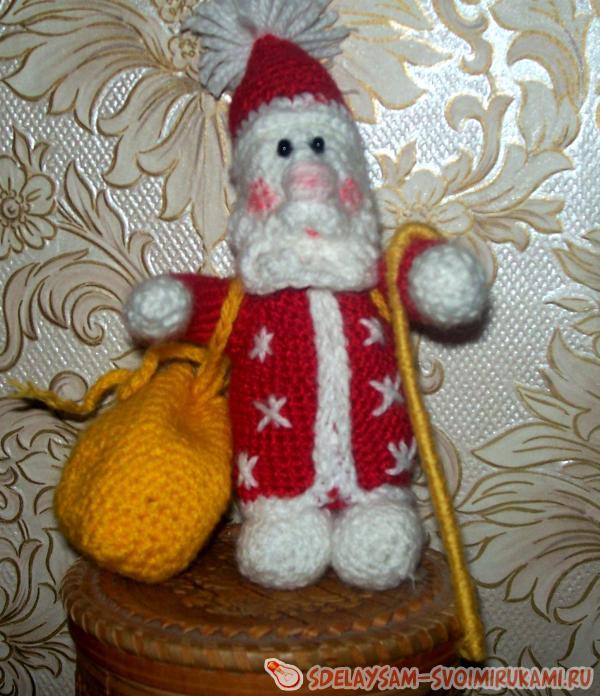Дед Мороз крючком