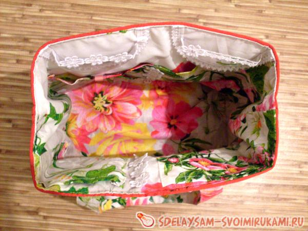 Organizer bag for a needlewoman
