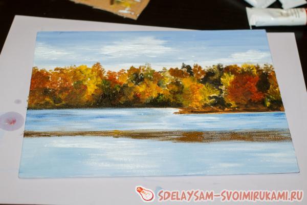 Oil Painting Autumn Breath