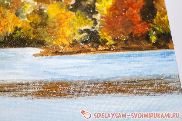 Picture oil Breath of autumn