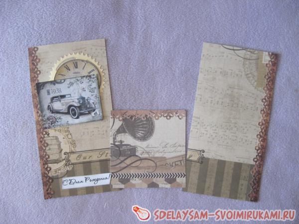Мужские конверты ко дню рождения