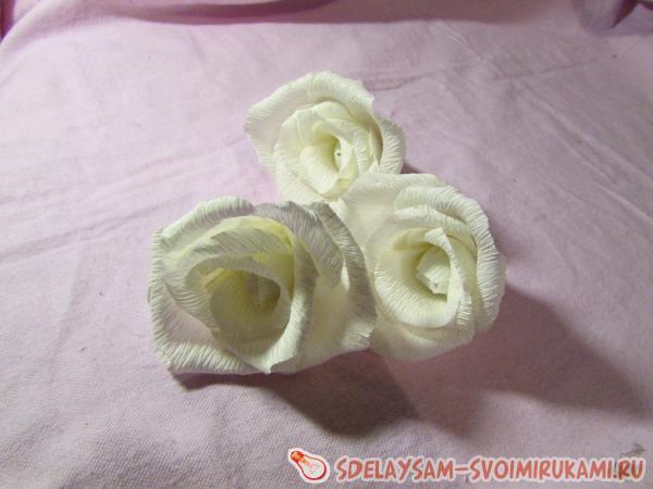 шкатулка с цветами из бумаги