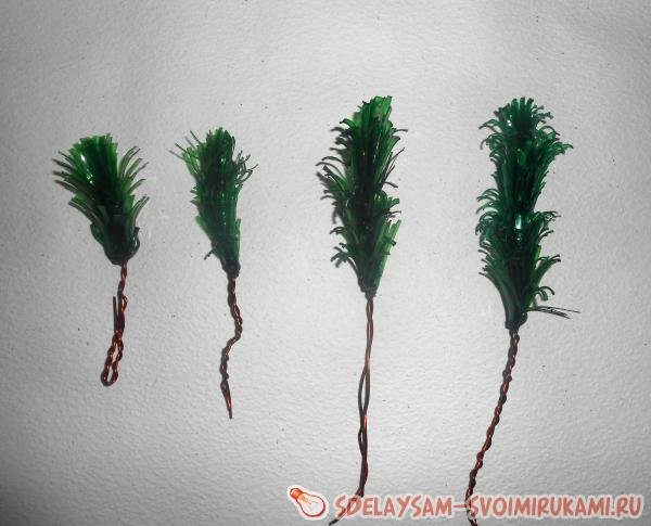 Сделать макушку для елки своими руками из