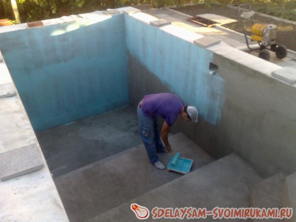 pool waterproofing