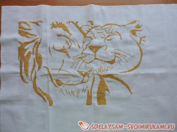 Пара львов