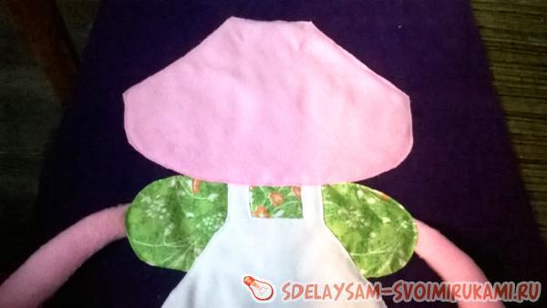 Декоративная подушка для девочки