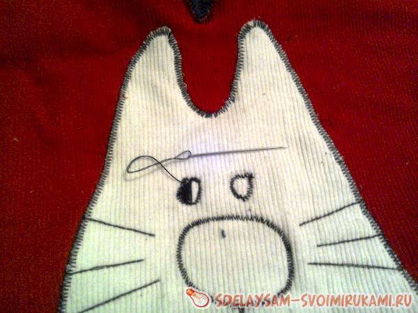 Подушка Котик