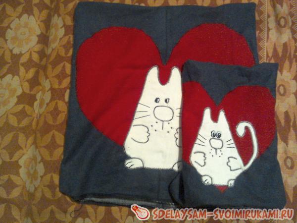 Подушка «Котик»