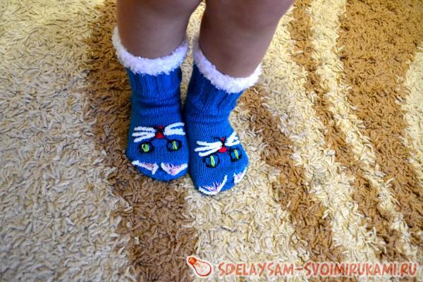 Носочки-котики