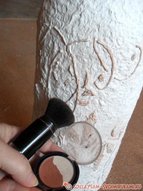 DIY Handmade Floor Vase