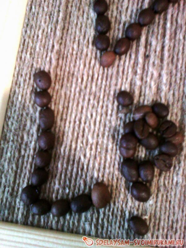 Кофейная рамка