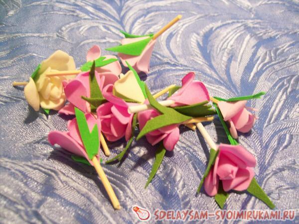 basket of ribbons