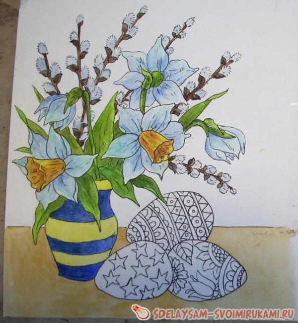 пасхальный натюрморт