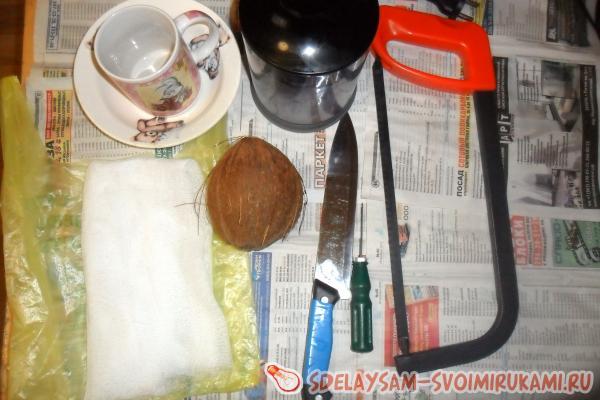 Как я делала кокосовое масло