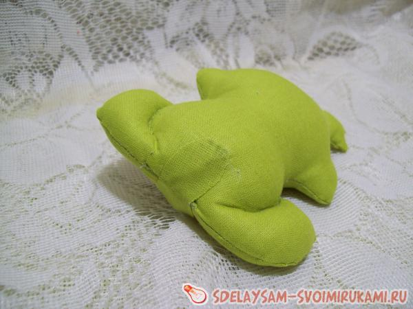 princess frogs from the fabric