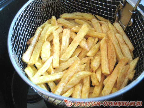 Картофель фри по всем правилам