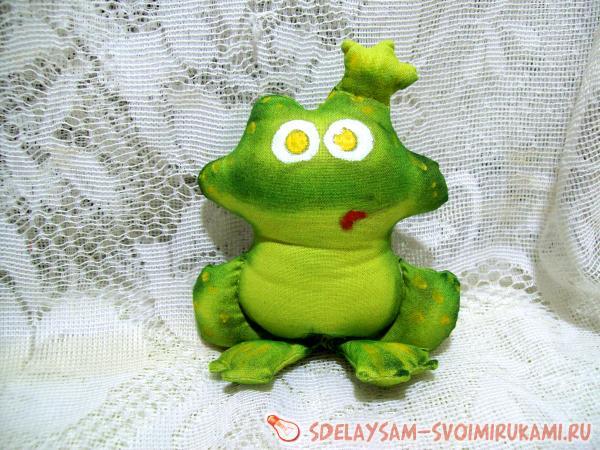 царевны лягушки из ткани
