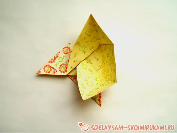 gift envelope from paper