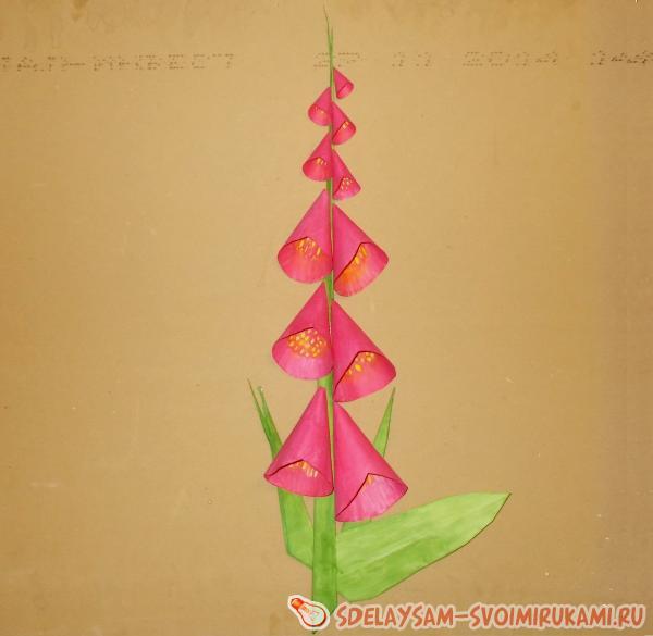 Оригами из конусов 72