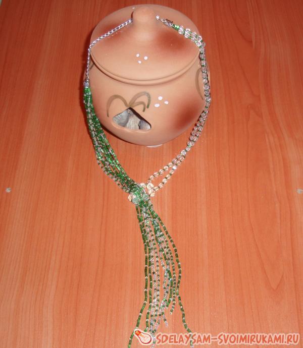 Necklace Green Rhapsody
