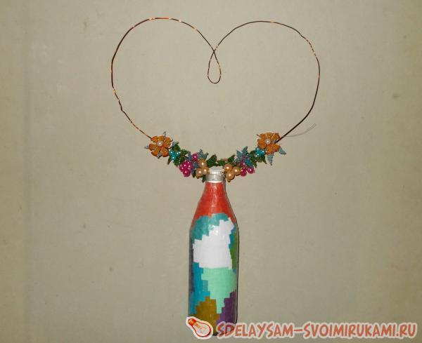 Bead Heart Decoration