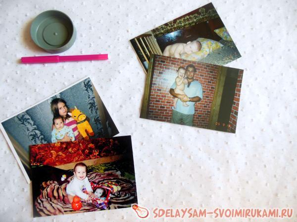 Фотоколлаж из детских фотографий