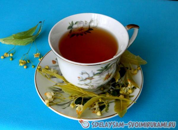 О пользе чая из липы