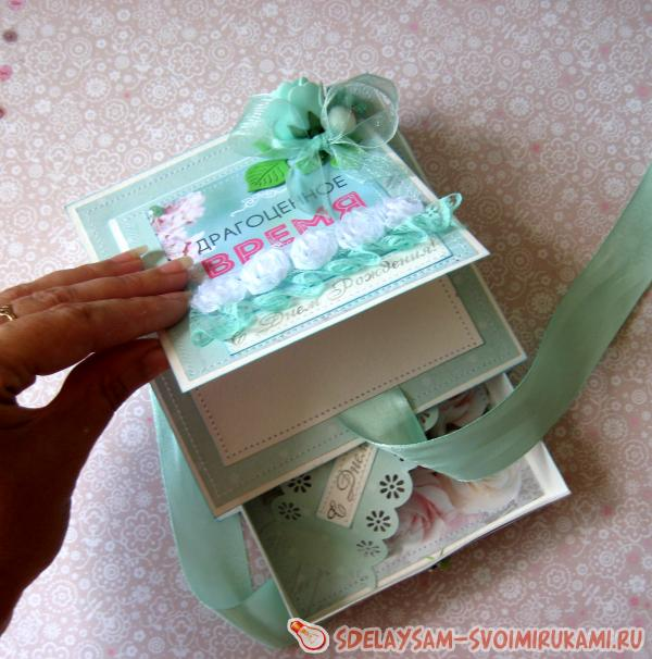 Коробка для денег ручной работы