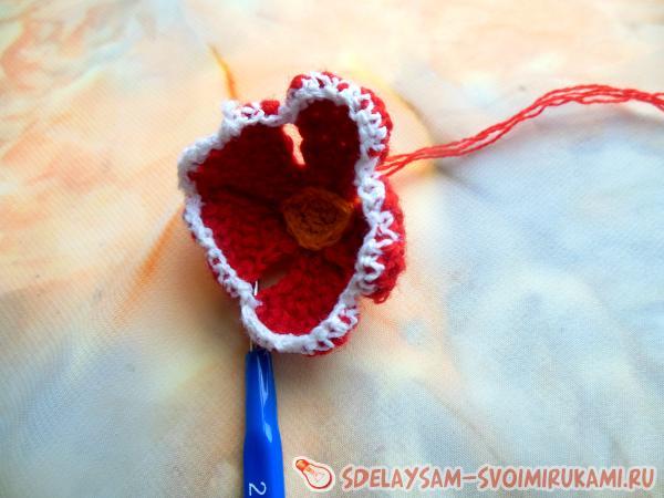 Gloxinia crochet